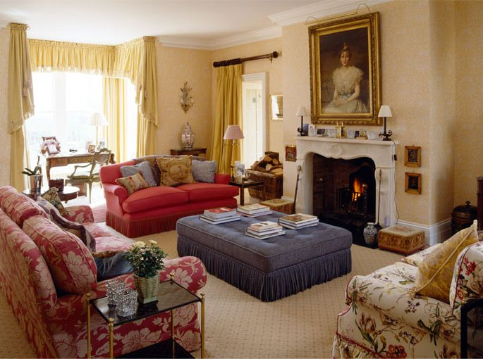 Country House Interior Redesign Mark Gillette English Country House